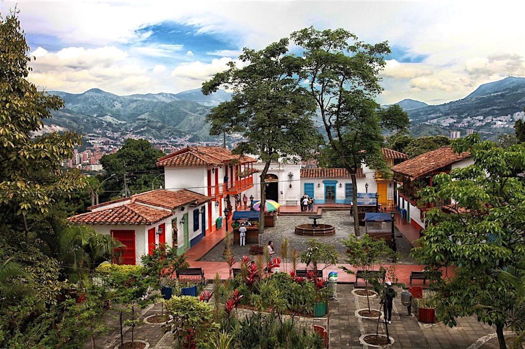 Pueblito Paisa in Medellín, photo by Jenny Bojinova