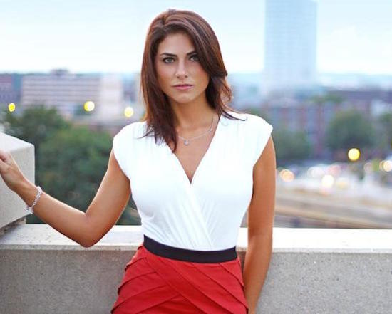 the 15 hottest female sportscasters in the world, jenny dell
