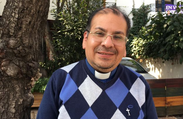 Father Francisco Javier Ossa Figueroa, who testified recently