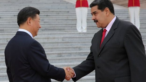 Chinese President Xi Jinping and Venezuela